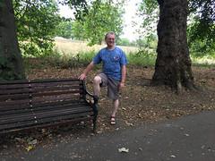 Me at Friary Park (jovike) Tags: barnet bench finchley jovike london man me park tree