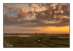 portbail (lej - http://lej.free.fr) Tags: portabail couchédesoleil lehavredeportbail marée marais manche normandie cotentin