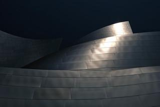Jeux de lumière sur Walt Disney concert hall