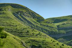 Steinwelle / Stone wave (www.textbox.at) Tags: montenegro balkan sommer urlaub berg geologie formation grün welle schicht karst