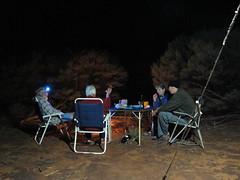 Campsite with beer and wine (spelio) Tags: australia remote wa western june 2011 pilbara travel