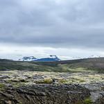 Viðgelmir with Langjökull in the Distance thumbnail