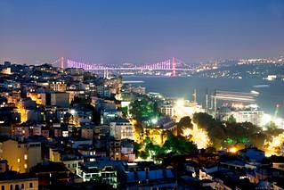 El puente del Bósforo. Estambul.