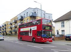 SLN 17861 - LX03NFF - WATLING STREET BEXLEYHEATH - TUE 14TH AUG 2018 (Bexleybus) Tags: bexleyheath kent da7 watling street stagecoach london adl dennis trident alx400 alexander 17861 lx03nff selkent tfl route 96