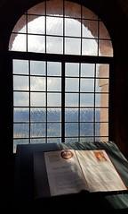 History-RichardTheLionheart (Lothbrock'sYen) Tags: window history richardthelionheart lothbrocksyen light glass book ancient