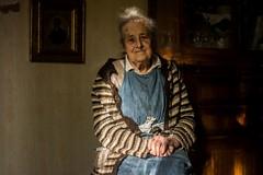 Mima,December  2014 (esztervaly) Tags: portrait portraitphotography portraiture portraitwoman portraitmood portraits woman womanportrait oldwoman grandmother grandmotherportrait pray room door naturallight people photo sunshine sunlight sun lights lightsandshadows