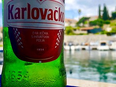Another point of view (ivan.porqueras) Tags: dubrovnik holiday summer alternative view harbour beer cavtat croacia