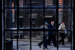 'End of Shift' (AndrewPaul_@Oxford) Tags: blists hill open air museum victorian town edwardians reenactors reenactment environmental portrait window timeline events