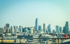 Skyline (flrent) Tags: sf san francisco skyline skyscrappers city street buildings california cali bay south salesforce tower towers