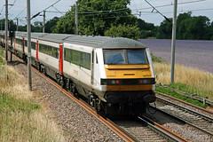 DVT trailing to Liverpool Street (SP Railways) Tags: railway train british uk markstey 82127 greater anglia dvt