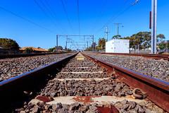 Tracks (obLiterated) Tags: runcorn brisbane tracks sleepers ties traintracks