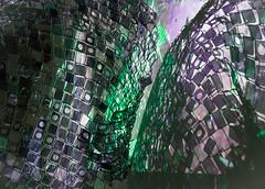 Tripping on the Grid (fotostevia) Tags: ncma northcarolina photokineticgrid soosunnypark youarehere abstract artmuseum pentaxart
