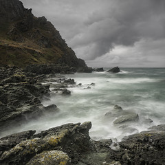 Lost World (www.neilburnell.com) Tags: mood moody seascape rocks coast neil burnell wwwneilburnellcom