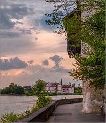 Blick über'n Inn / View over the river inn (ludwigrudolf232) Tags: kloster neuhaus flus inn innlände