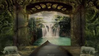 Waterfall.....
