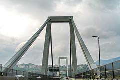 Genova, hoy en mi recuerdo (Micheo) Tags: genova genoa tragedia desastre disaster puentemorandi colapso caida homage homenaje recuerdo viaje trsiteza sadness derrumbe