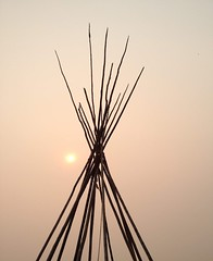 Red Skies ....  #Wildfires (Mr. Happy Face - Peace :)) Tags: wildfires bcfires teepee environment smoke sky sun cloud art2018