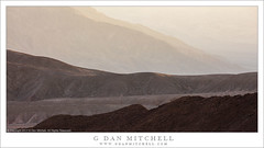 Desert Ridges and Haze (G Dan Mitchell) Tags: desert mountains ridges hills haze atmosphere light deathvalley national park landscape nature california usa north america