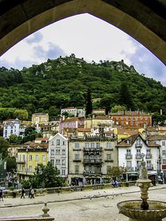 Moorish fort above Sintra