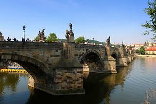 Charles Bridge. Prague, Czech republic.