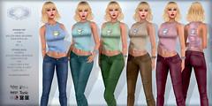 *Lurve* Sweet Temptation Top & Jeans Phat Pack (*Lurve*) Tags: jeans tops lurve tank cupcakes maitreya belleza venus isis freya slink physique hourglass tmp tonic curvy fine ebody classic secondlife danielleidigo