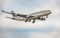 A7-HHK Qatar Amiri Flight Airbus A340-200 (Cargo) (José M. F. Almeida) Tags: lisbon lppt lis spotting aircrafts airplane airport daylight a7hhk qatar amiri flight airbus a340200 cargo