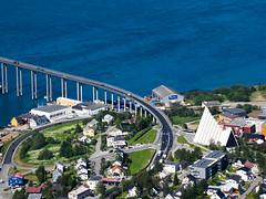 House of God - Ishavskatedralen (Runar Eilertsen) Tags: tromsø troms norge norway nordnorge northernnorway ishavskatedralen tromsdalen bru bridge