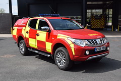 Cumbria - PX65YZT - Penrith (matthewleggott) Tags: cumbria fire rescue service engine appliance px65yzt mitsubishi l4v 4x4 penrith