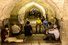 Under the Si-o-se Bridge (The eclectic Oneironaut) Tags: 2018 6d canon eos iran isfahan selected travel viajes esfahan isfahanprovince irán ir siose pol bridge