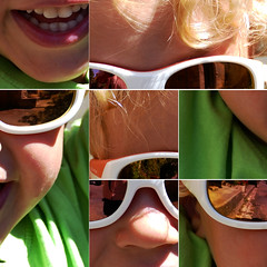 Papy Patou, t'arrête de m'secouer … (Le.Patou) Tags: puzzle garçon sourire blond enfant lunette boy little smile child tyson jsslll glass reflect fz1000