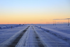 Iceland (Eijiro) Tags: iceland winter snow road white