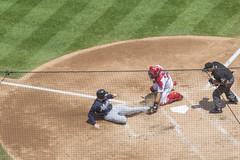 Out! (Tim Brown's Pictures) Tags: washingtonnationals baseball majorleague nationalspark baseballstadium sports pastime game washington dc unitedstates
