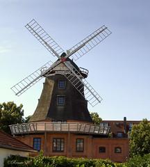 Meyer´s Mühle in Warnemünde (Renata1109) Tags: warnemünde mühle meyer´smühle ostsee sehenswürdigkeit himmel deutschland germany mecklenburgvorpommern rostock outdoor sommer urlaub
