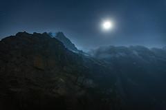 Full moon rising over the Swiss Alps (acase1968) Tags: full moon rise swiss alps murren hotel edelweiss switzerland nikon d750 nikkor 2485mm