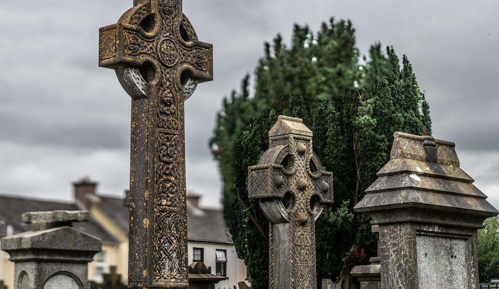 OLD CHURCHYARD KNOWN AS ST. JOHN'S [DUBLIN ROAD KILKENNY]-142947