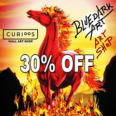 🔥 30% Off 🔥 on #BluedarkArt #TheChameleonArt Curioos #Art #Shop 👉  https://www.curioos.com/bluedarkart 🔥   #artgallery #Wallart #Prints #clothing #fashion #designtrends #shopping #sales #discount #onsale #horsefire #firehorse #w (BluedarkArt) Tags: thechameleonart horsefire art horselovers surrealart homedecor designtrends discount artistic firehorse onsale artgallery wildhorse sales bluedarkart conceptualart shop wallart artlovers clothing prints fashion shopping