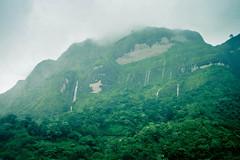 Water tumbling down the rocky mountain (Sayrha07) Tags: waterfalls cascade mountain rocky outdoor green rainy season monsoon typhoon nikon d5300 forest landscape clouds kapangan benguet philippines cordillera