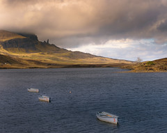 Old Man of Storr on the Isle of Skye in Scotland. (scottish river) Tags: skye loch scotland storr man old