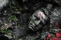 Emerging (Vol'tordu) Tags: statue poetry stoned modern abodeofchaos demeureduchaos lyon france rhônealpes expressive
