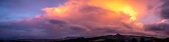 Tuscany Thunder (Chris Buhr) Tags: toskana tuscany thunder thunderstorm unwetter gewitter abendhimmel sky sunset color italien italy leica panorama pano landschaft landscape nature