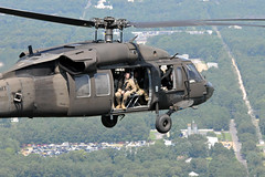 NJ National Guard Soldiers treated to helo flight (New Jersey National Guard) Tags: newjersey nationalguard usarmy blackhawks uh60 helo incentiveflights reenlistment soldiers seagirt us usa