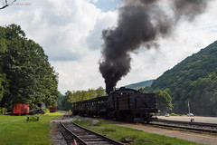 Smoky Shove (nrvtrains) Tags: westvirginia cass logging cassscenicrailway shay steam unitedstates us
