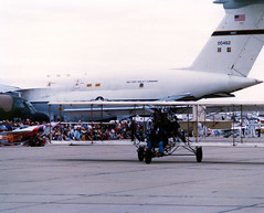 air show image (San Diego Air & Space Museum Archives) Tags: 700462 cn5000076 5000076 aviation aircraft airplane militaryaviation unitedstatesairforce usairforce usaf lockheed lockheedc5galaxy lockheedc5 c5galaxy c5 lockheedgalaxy lockheedc5agalaxy lockheedc5a c5agalaxy c5a generalelectric ge generalelectrictf39 getf39 tf39 tf39ge1 tf39ge1a fred