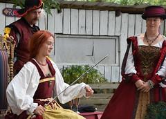 Knighting Ceremony (Adventurer Dustin Holmes) Tags: 2018 whitehart renaissancefaire renaissancefair renaissancefestival people event events hartvillemo missouri hartvillemissouri wrightcounty sword