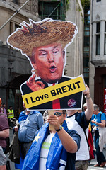 London Protest March against Brexit (AndrewKeats01) Tags: london brexit politics march rally trump