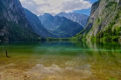 Doubles (Don César) Tags: obersee bayern bavaria germany alemania deutschland lake lago water wasser see agua paisaje landscape europe berchtesgadennationalpark