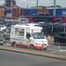 501 buses at Edgbaston for England v India - ice cream van - Mister Softee