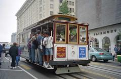 1998-07 San Francisco Cable Car Nr.7 (beranekp) Tags: usa california san francisco muni cable trolley tramway tram tranvia tramvaj strassenbahn šalina elektrika električka 7