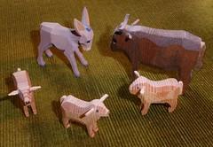 P1120894 Tiere von der Weihnachtskrippe (Traud) Tags: germany deutschland bavaria bayern tiere ochs esel schafe krippe weihnachten christmas 7dwf