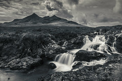 In Spate (SkyeWeasel) Tags: scotland skye landscape waterfall alltdeargmor mountains cuillins blackcuillins river water longexposure hebrides highlands